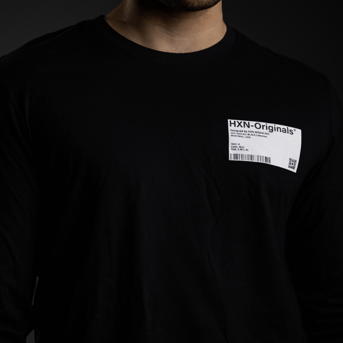 fresh out the factory long sleeve front hxn media