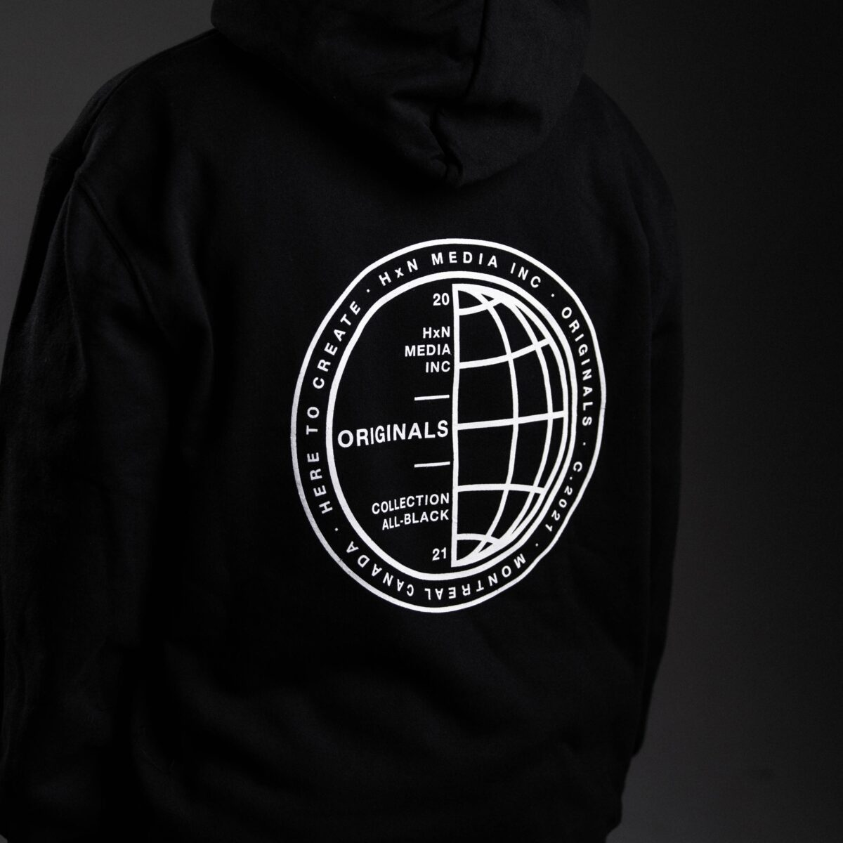 stamped hoodie back 2 hxn media collection