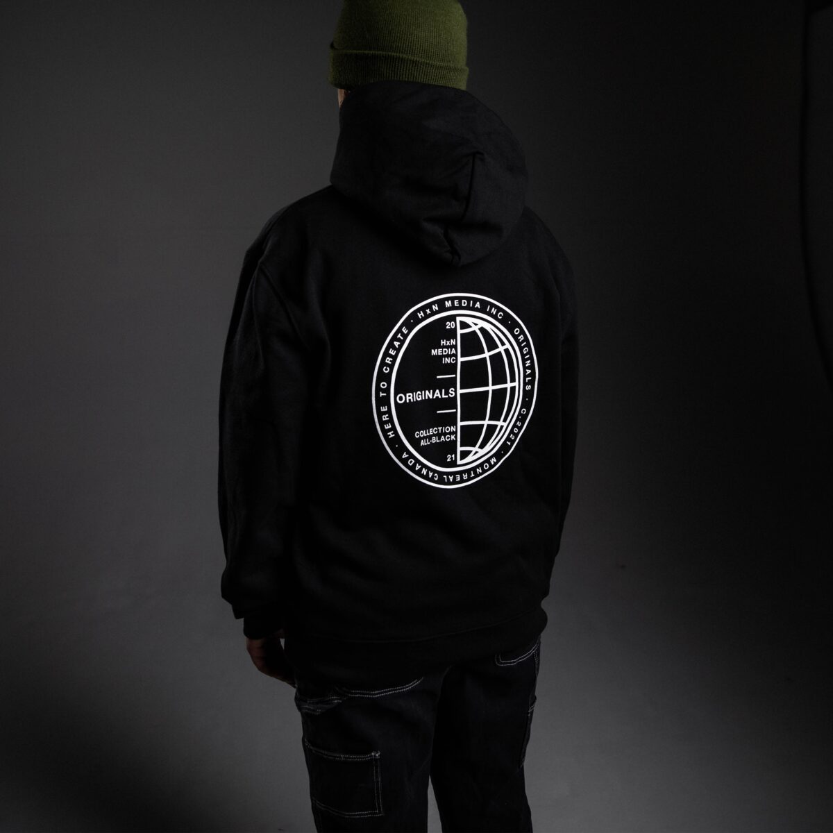 stamped hoodie back hxn media collection