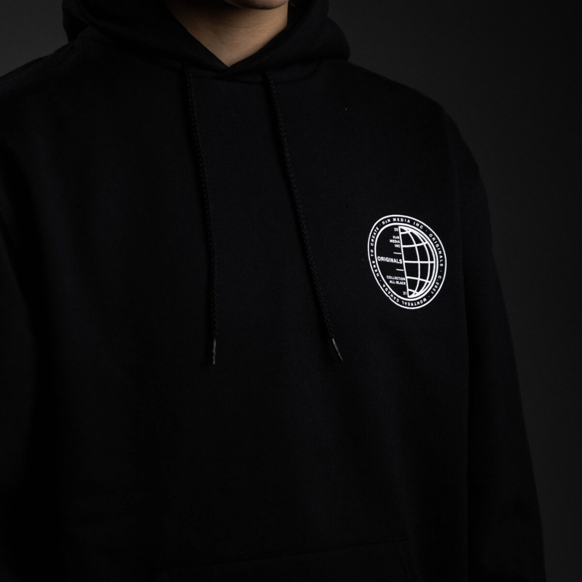 stamped hoodie front hxn media collection