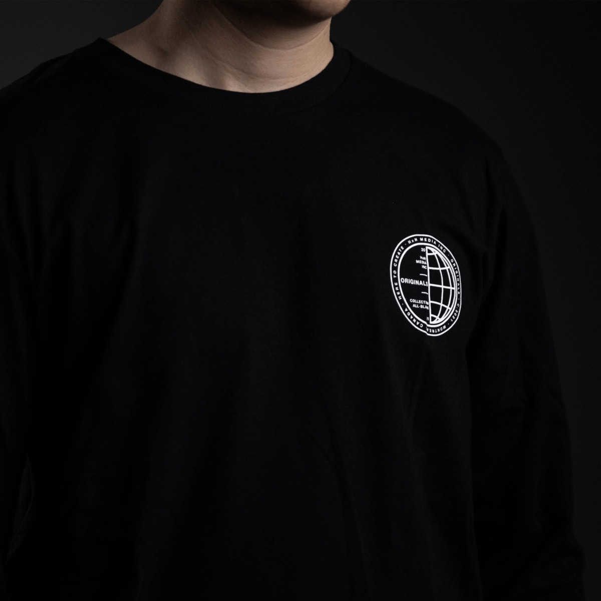 stamped longsleeve front hxn media collection