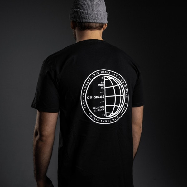 T-Shirt Stamped Devant - HxN Media Collection