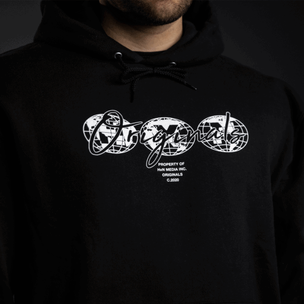 worldwide hoodie front hxn media